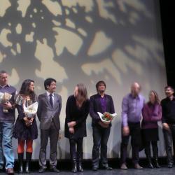 Dernière photo pour les lauréats et le jury artistique