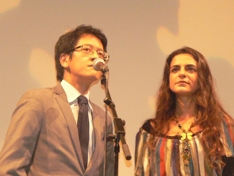 Léo Séosanto et Toufan Manoutcheri, du jury artistique
