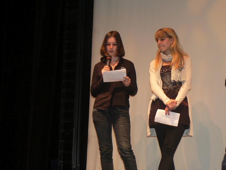 Maurane Beaumet et Naomié Baudron, jury lycéen
